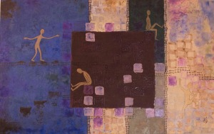 A Question of Balance, 40 x 25, $700