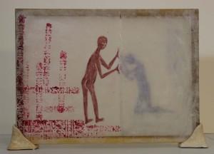 """Communication"" (Side One) 18 x 14"